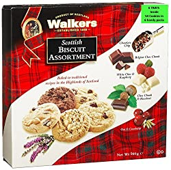 Walkers Shortbread Scottish Biscuit Assortment, 900g Box