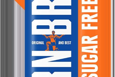 IRN-BRU Sugar Free Fizzy Drink Cans, 330ml, (Pack of 18)