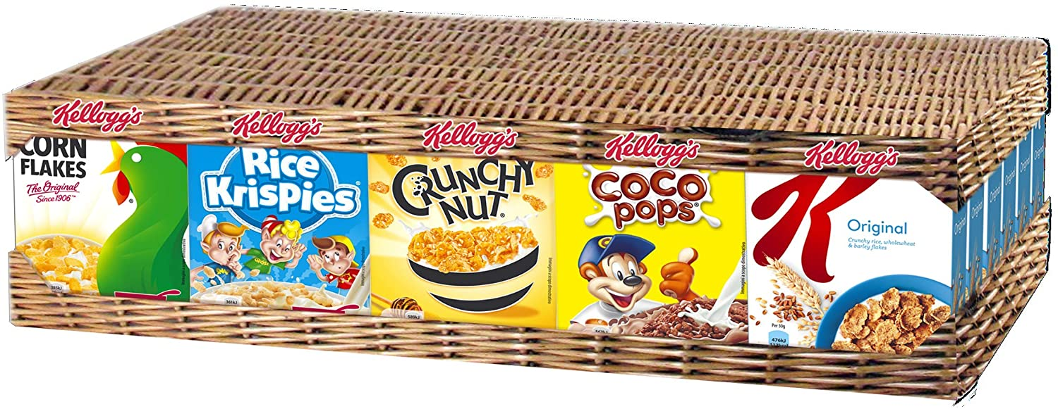 Kellogg's Mixed Case Portion Pack (Top 5 brands), 1.86 kg, Pack of 1