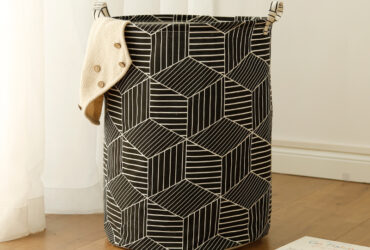 Hot Selling Geometric Folding Laundry Hamper Sorter Basket