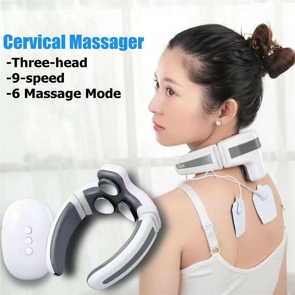 Electric Neck And Shoulder Massager