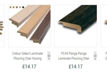 Buy Laminate Flooring Stair Nosing Online UK