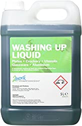 2WORK 2W04170 Washing Up Liquid, 5 Litre, Green, Pack of 1