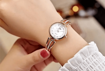 Lady Bracelet Bangle Women Dress Quartz Watch
