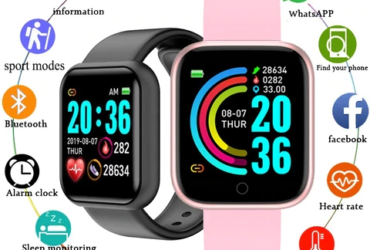Smartwatch Heart Rate Blood Pressure Monitor
