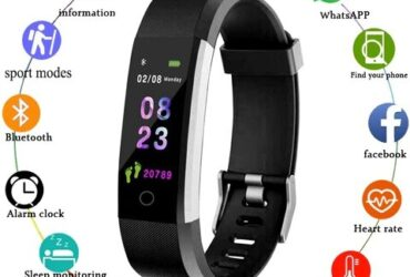 Smartwatch Sport Smart Bracelet Heart Rate Blood Pressure