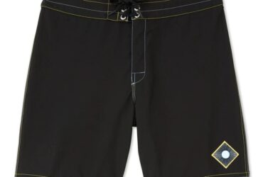 Mens Black Board Shorts