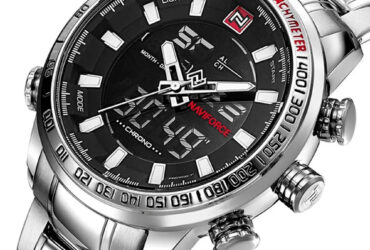 NAVIFORCE NF9093 Fashion Men Dual Display Watch