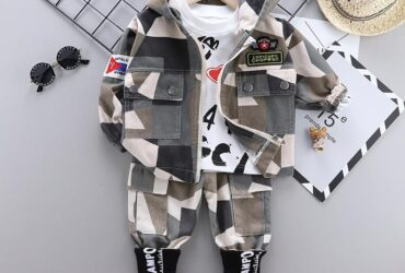 Kids Fashion Toddler Tracksuits