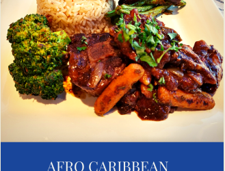 Afro-Caribbean Valentine's Feast For 2