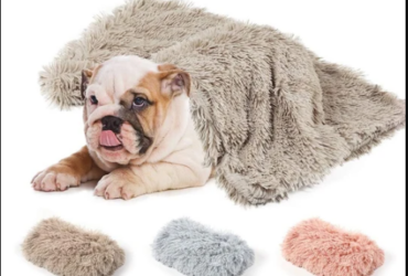 LONG PLUSH DOG BLANKETS