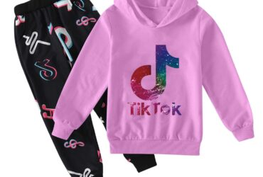 Tik Tok Set for Big Boy Girl Tracksuit Clothes