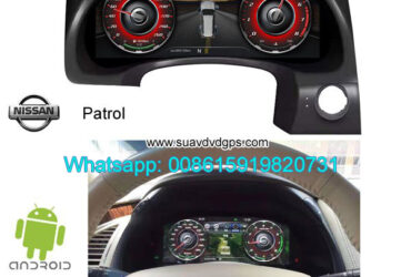 Nissan Patrol Refit multimedia dashboard Modification Android Car GPS