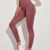 Women Crop Sports Leggings