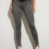Contrast Panel Yoga Leggings