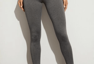 Contrast Panel High Waist Sports Leggings