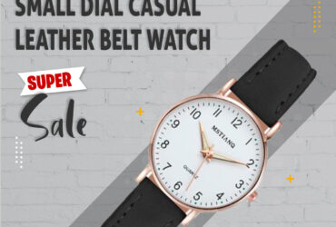 WATCH WOMEN FASHION CASUAL LEATHER BELT WATCHES SIMPLE LADIES' SMALL DIAL