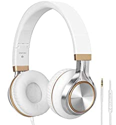 Headphones,BienSound HW50C Stereo Folding Headsets