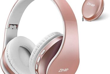 zihnic Headphones, Foldable Wireless