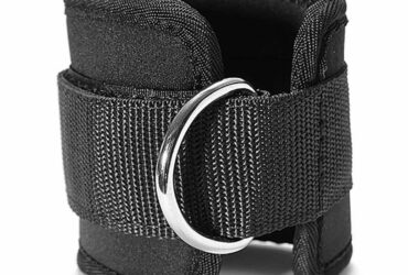 Fitness Ankle D Ring Straps Gym Weight Lifting Exercise