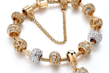 YADA Gifts INS Fashion gold heart Bracelets & Bangles