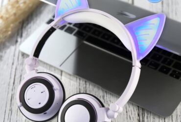 Cat Ear Headphone Gaming Headset
