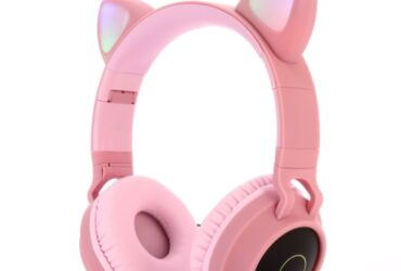 Cute Cat Ear Bluetooth 5.0 Headphones