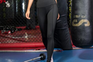Brand Women Yoga Sports Leggings with Pockets