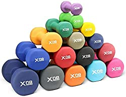 Xn8 Neoprene Dumbbells Hand Weights