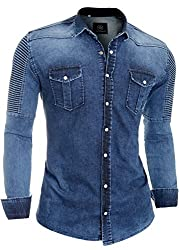 D&R Fashion Men Denim Shirt