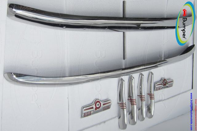 Volvo 830 – 834 bumper (1950–1958) by stainless steel