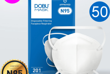 DOBU MASK N95 NIOSH 50pcs