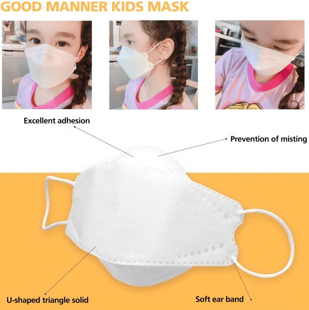 Good Manner KIDS Mask with FDA and CE Approval 50pcs