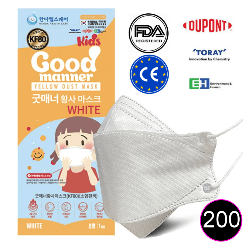 Good Manner KF94 KIDS Mask with FDA and CE Approval 200pcs