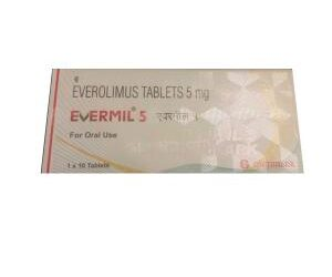 Buy Online Evermil 5mg Tablets