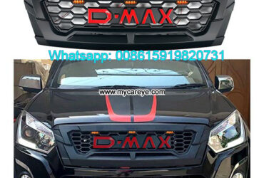 Isuzu Dmax Grills Car Front Bumper Grille With LED Light