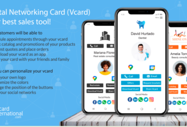 Vcard International, more than a business card, is the most powerful sales and networking tool!