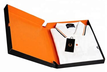 Shirt boxes with custom  quality printing at wholesale