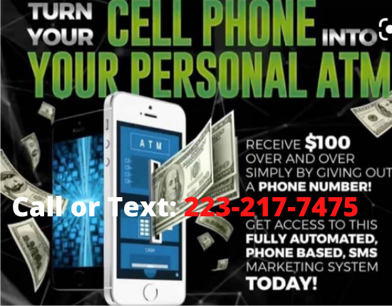 Make $100-$1000 INSTANTLY sharing a phone number!