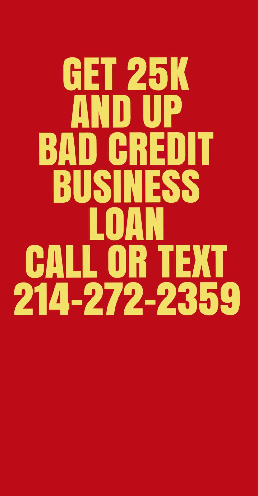 Bad credit business loans of $2,500 to $ 25,000