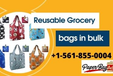 Get Stylish Reusable Grocery Bags