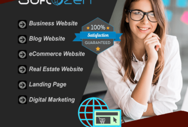 You will get website development & digital marketing services for your business