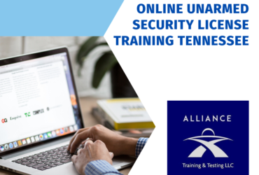 Online Unarmed Security License Training Tennessee
