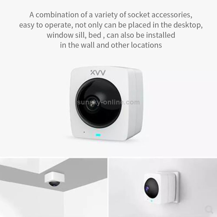 2 Million Pixel Smart Panoramic Camera, Support Infrared Night Vision