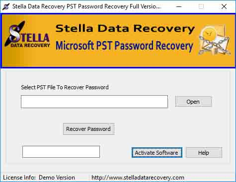 Remove pst password software